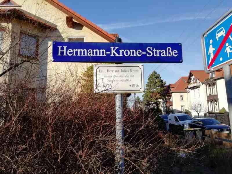 Hermann-Krone-Straße in Dresden