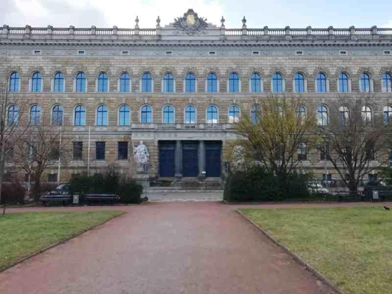 Dresdner Amtsgericht und Landgericht, Sitz der Staatsanwaltschaft Dresden