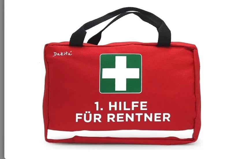 Erste Hilfe für Rentner