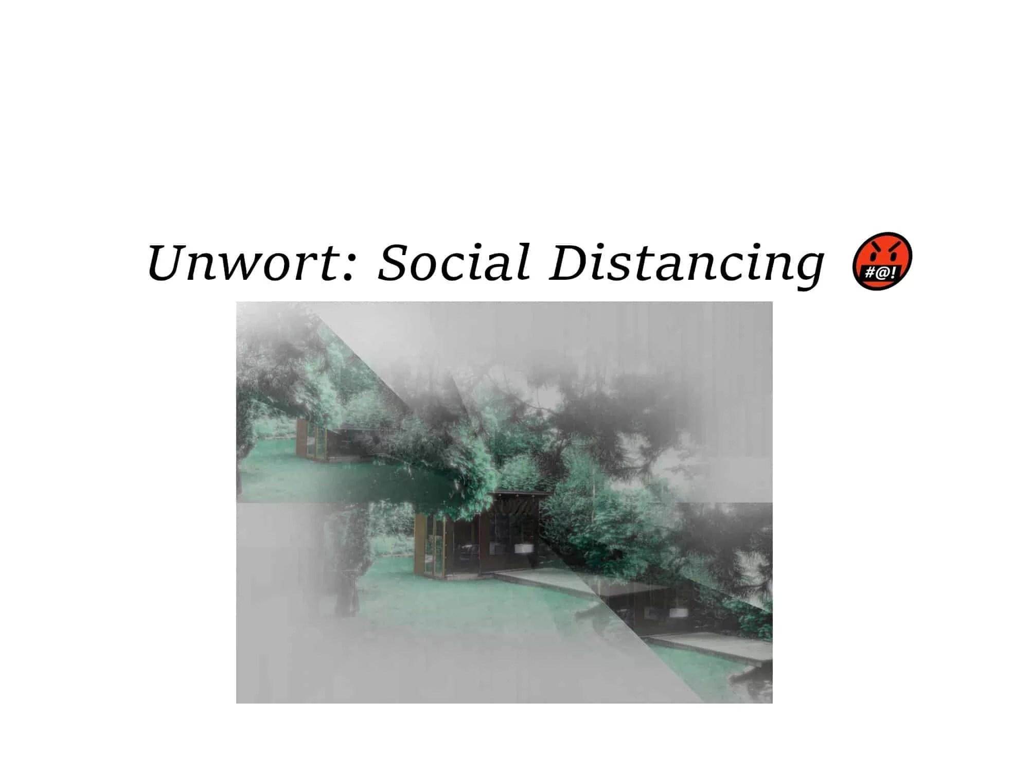 sozial distancing