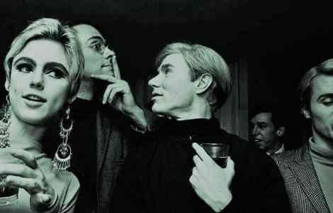 Steve Shapiro, Edie Sedgwick & Andy Warhol en 1965 / Foto: Billy Name