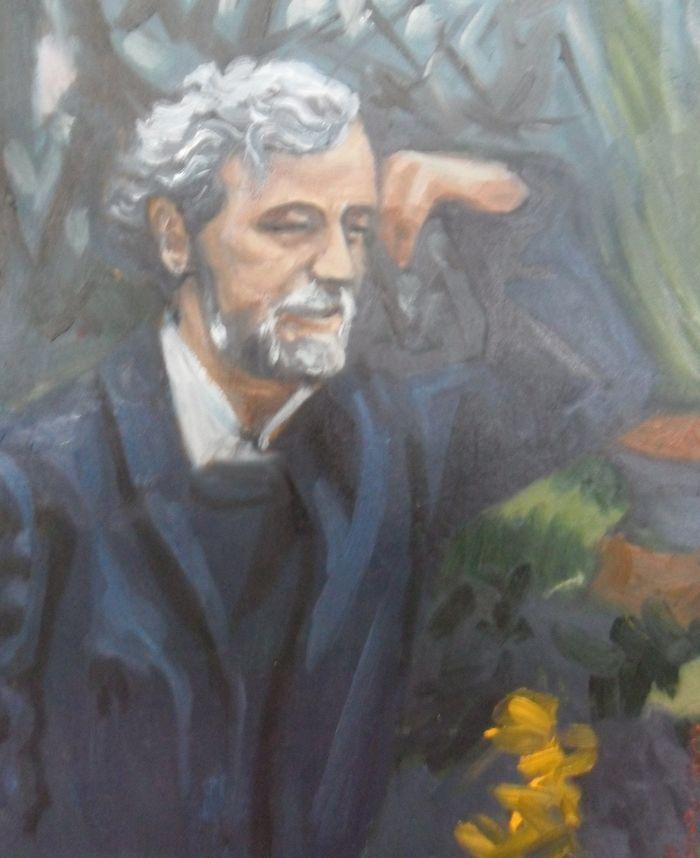 Adolfo Couve en Villa Lucia