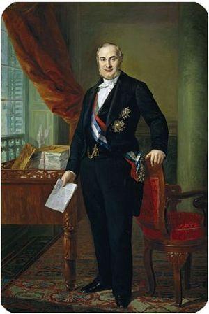 Alejandro Mon - ministro de Hacienda (1845)
