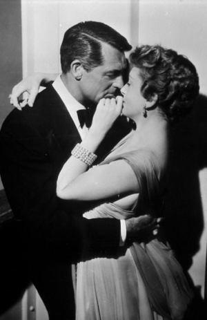 Cary Grant y Deborah Kerr