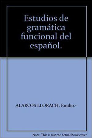 Estudios de gramática funcional