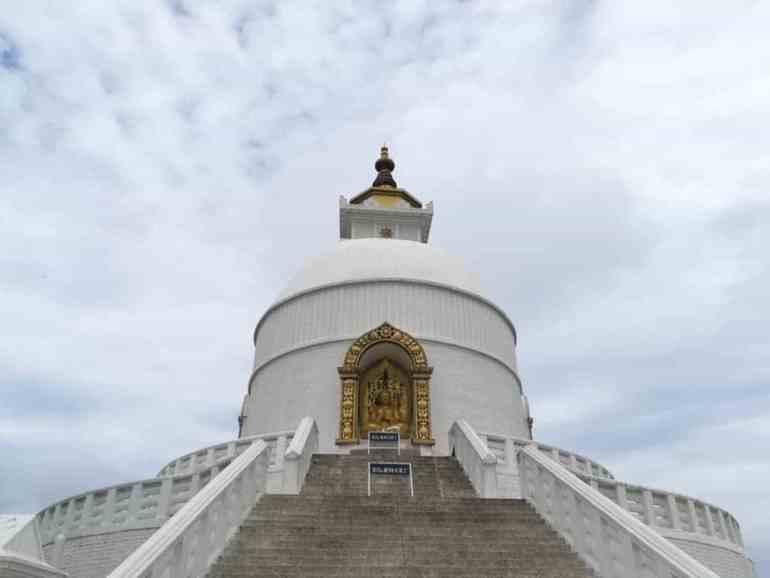 Estupa de la Paz, Pokhara