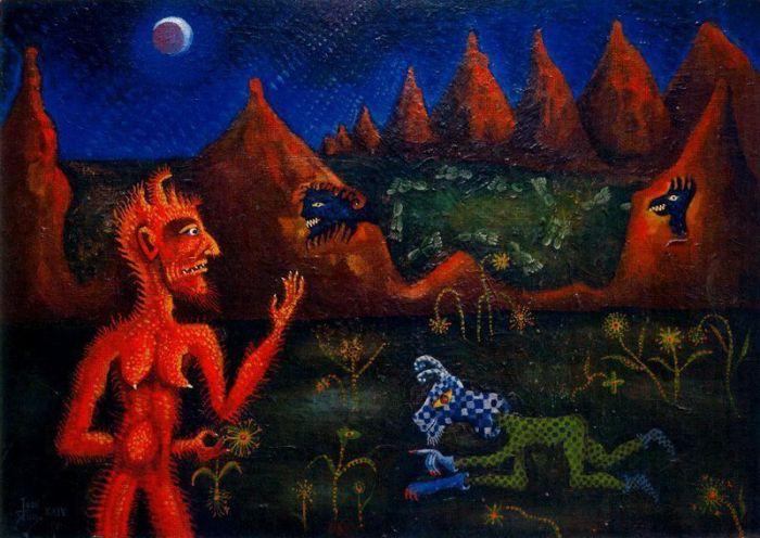 Joan Ponç. La locura del arte
