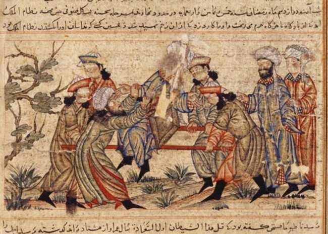 La secta de los asesinos de Alamut