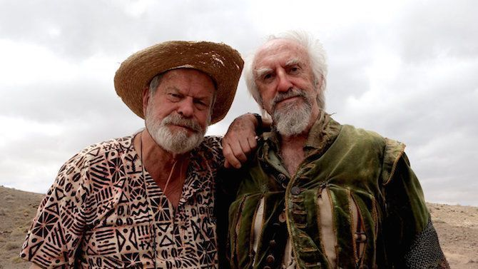 Terry Gilliam y Jonathan Pryce