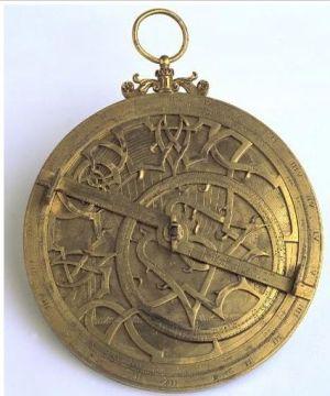 astrolabio árabe