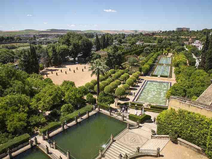 jardines del Alcázar de los Reyes Cristianos - Córdoba