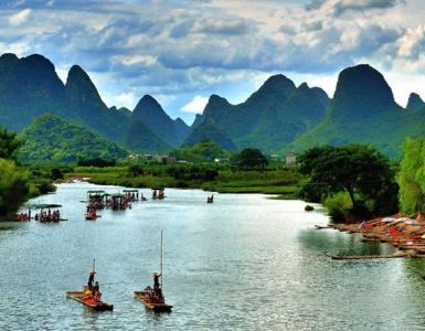 Un paseo por Guilin