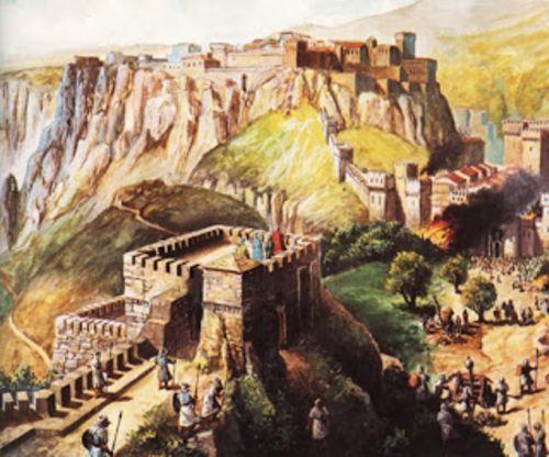 reconstrucción pictórica de bobastro (blog museo del bandolero)
