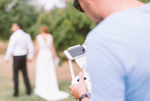 Un drone pour son mariage - La Soeur de la Mariée - Blog Mariage