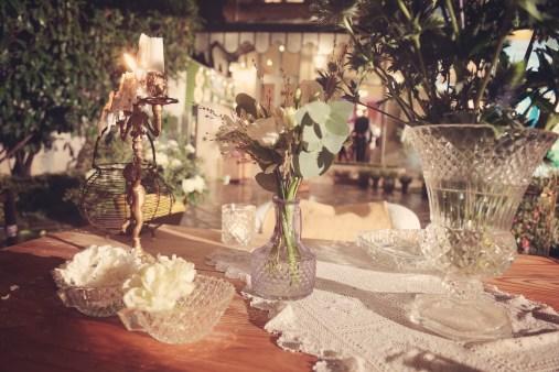 Les Coulisses du mariage - Mille et une listes - La Soeur de la Mariée - Décoration de table