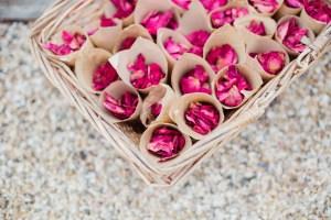Pétales de roses à lancer
