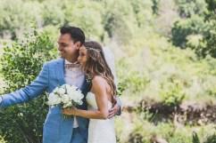 Couple de mariés en Provence