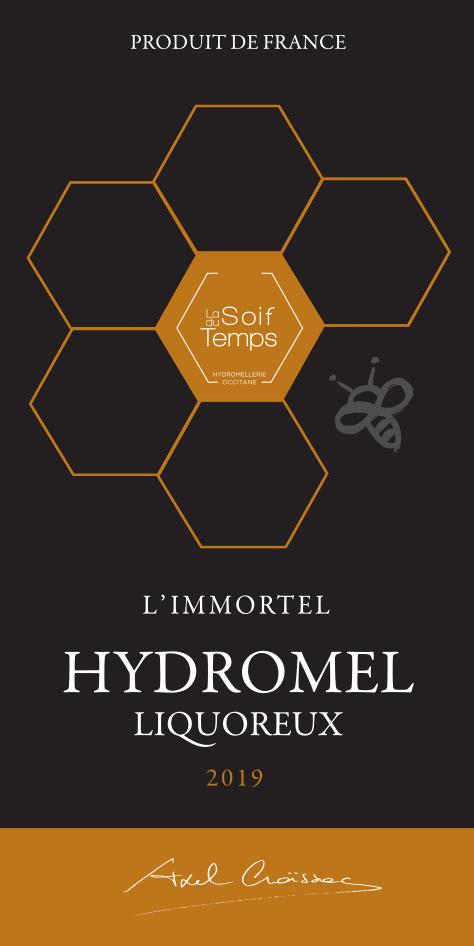Etiquette de l'hydromel L;Immortel