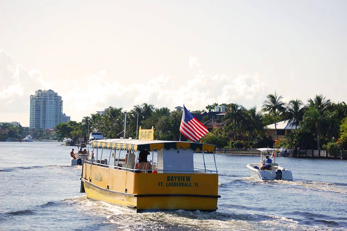 Fort Lauderdale Water Taxi Las Olas Boulevard