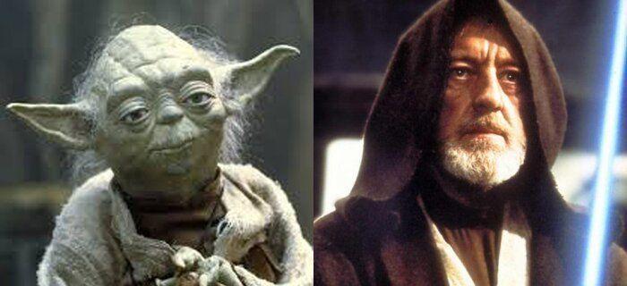 arquetipos Yoda Obi Wan