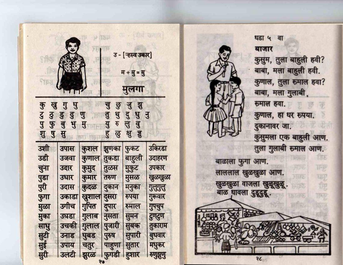 Barakhadi In English
