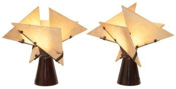 Lámpara monjil de madera4