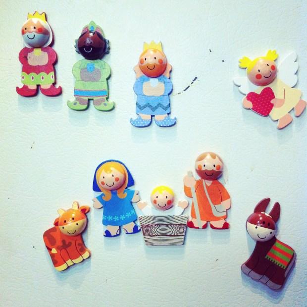 imanes nevera Navidad
