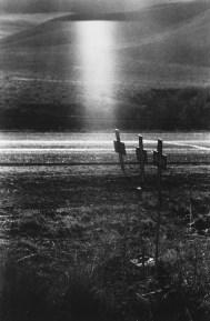 Robert Frank, crosses on scene of highway accident, Idaho.