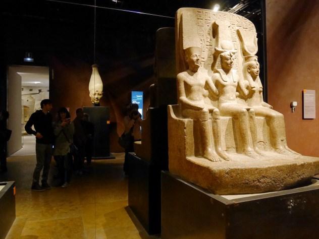 Museo egizio, galleria e ragazzi riflessi ;)