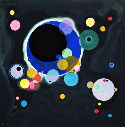 Vassily Kandinsky, Several circles.