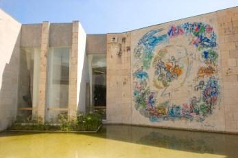 Museo Chagall, Nizza, mosaico