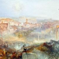 Turner a Roma: le meraviglie della città eterna