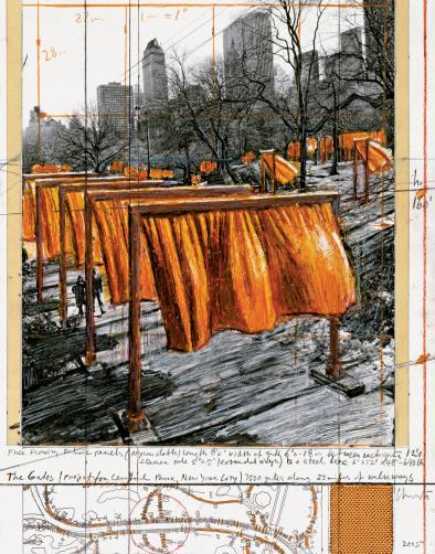 The Gates, Central Park, New York City, 1979-2005 4