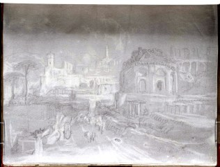 J. M. W. Turner, Tempio della Tosse, Tivoli.