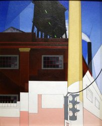 Charles Demuth, ...And the house of the brave.