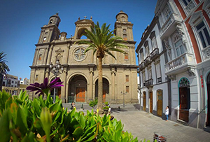 Vegueta Old Town and cathedral