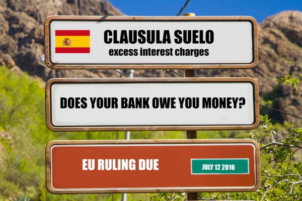 What is the clausula suelo and how does it affect Las Palmas de Gran Canaria propertyy owners