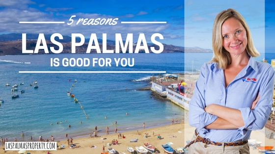 5 reasons why living in Las Palmas city is good for your health