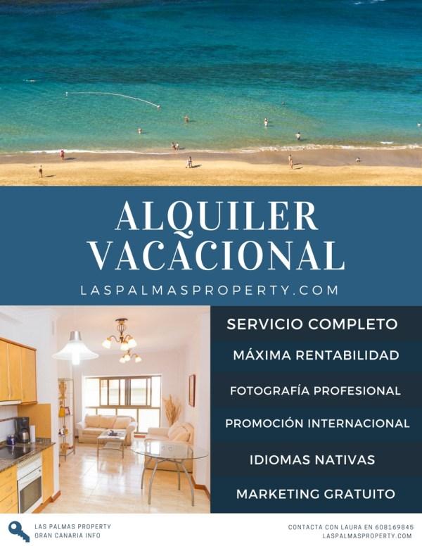 Servicio completo de gestion de viviendas vacacionales en Las Palmas de Gran Canaria