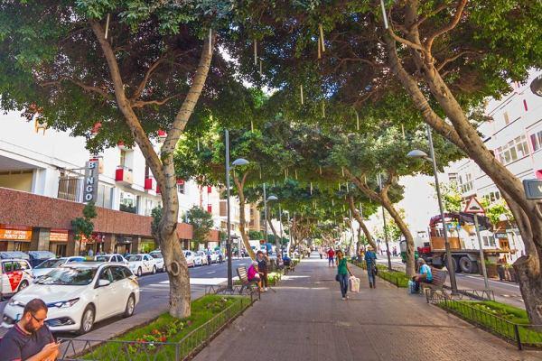 Mesa y Lopez street in Las Palmas de Gran Canaria will soon be completely pedestrian