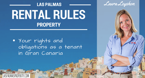 What Spanish law says about renting a property in Las Palmas de Gran Canaria