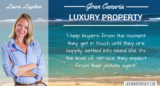 Selling a luxury Gran Canaria property is about going beyond the basics and offering quality service to bother seller and potential buyers