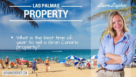 Las Palmas property: What is the best time to sell a Gran Canaria property?