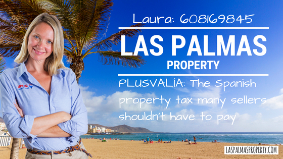 Plusvalia tax is a local Spanish property sellers that many people should not have to pay