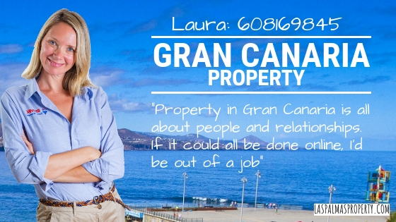 Property sales in Gran Canaria are all about people and relationships. Online selling services charge upfront and offer no guarantees at all.