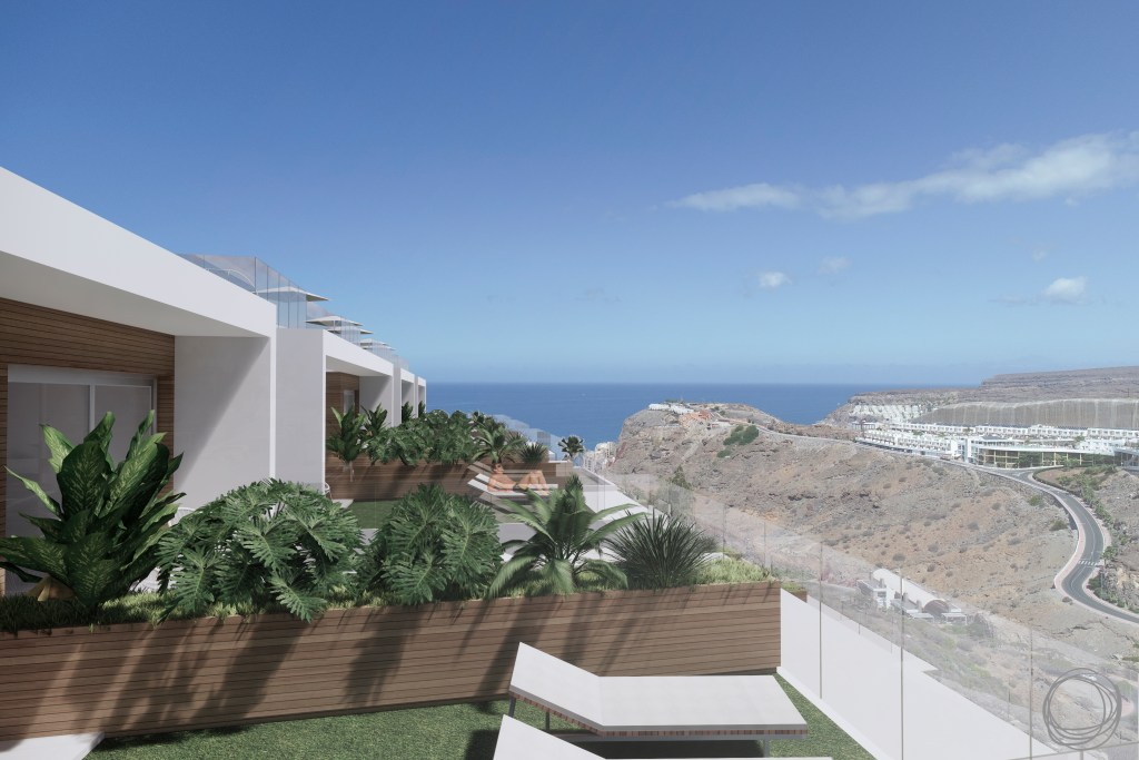 A top-quality off-plan promotion of fully equipped, luxury apartments at Amadores in south Gran Canaria.