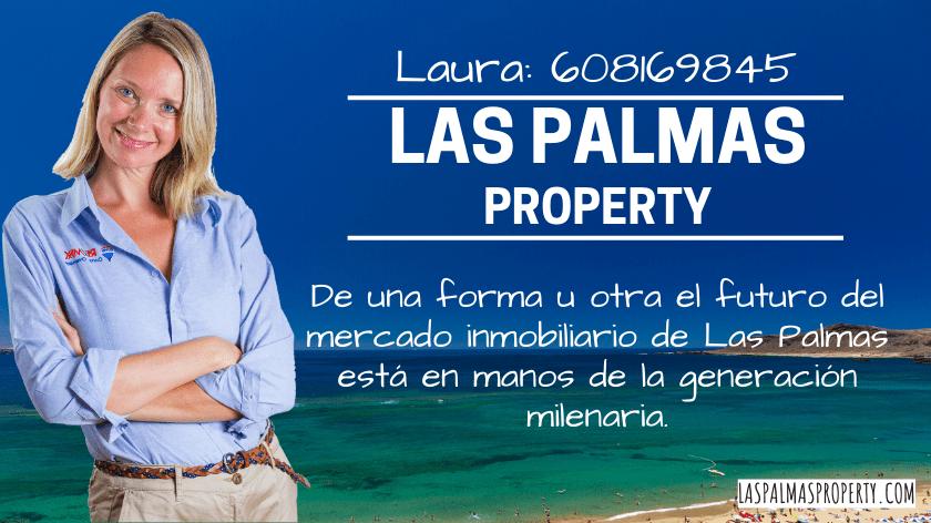 De una forma u otra, el futuro del mercado inmobiliario de Las Palmas está en manos de lageneración milenaria.