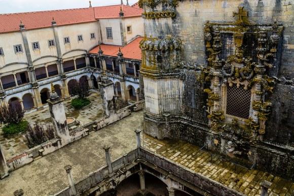 Convento de Cristo de Tomar, estilo manuelino