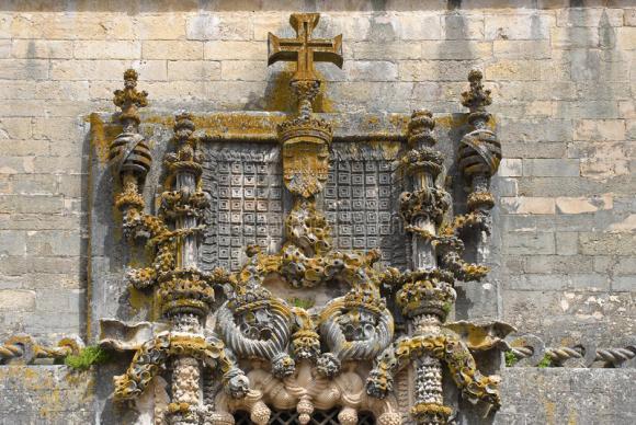 Ventana manuelina del Convento de Cristo de Tomar