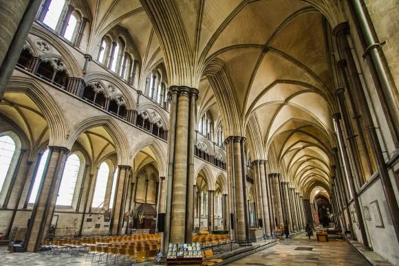 Catedral de Salisbury arquitectura gótico inglés